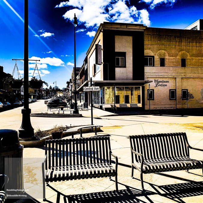 1185 Central Ave Benches